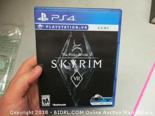 Skyrim for PS4