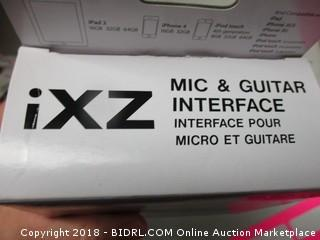 iXZ Mic and Guitar Interface