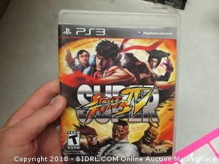 PS3 Super Street Fighter Game