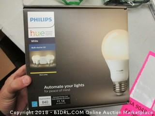 Philips Hue Bulb Starter Kit