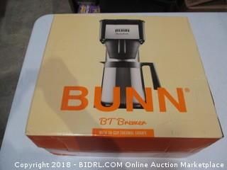 Bunn BT Brewer  with 10 Cup Thermal Carafe