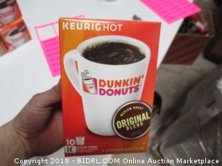 Keurig Hot Dunkin Donuts Coffee