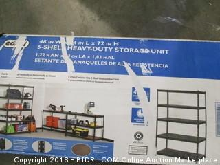 5-Shelf Heavy Duty Storage Unit