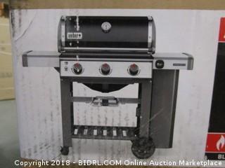 Weber 61010001 Genesis II E-310 Liquid Propane Grill, Black (Retail $699.00)