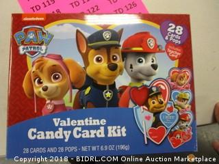 Valentine Candy Card Kit