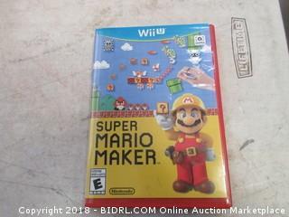 Wii Super mario Maker