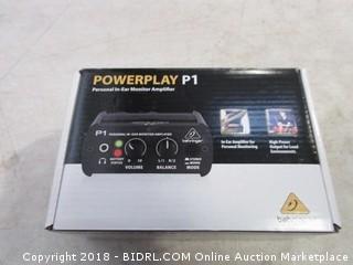 Powerplay P1 Personal In Ear Monitor Amplifier