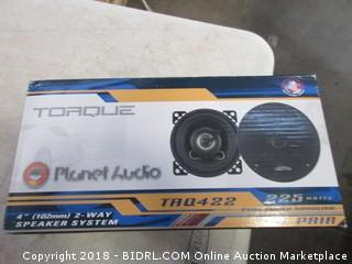 Toaque Planet 2 Way Speaker System