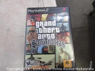 Play Stattion 2 Grand Theft Auto San Andreas