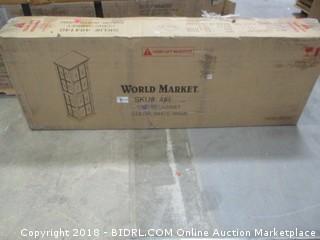 World Market Curio Cabinet