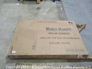 World Market Jaelyn Tufted Headboard