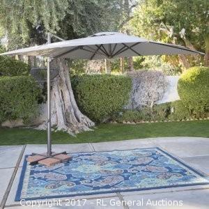 ULTIMATE - 11.5' Cantilever Umbrella - Wheat