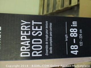 Drapery Rod Set