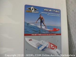 BIC Sport ACE-TEC Performer Stand Up Paddleboard, Gloss White/Wahine, 10'6