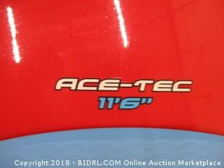 BIC Sport ACE-TEC Performer Stand Up Paddleboard, Gloss Red/White, 11'6 (Retail $899.00)