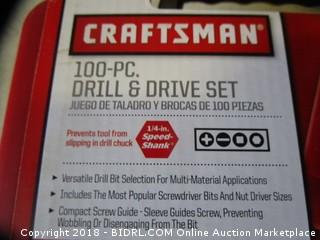 Craftsman Drill and Drive Set