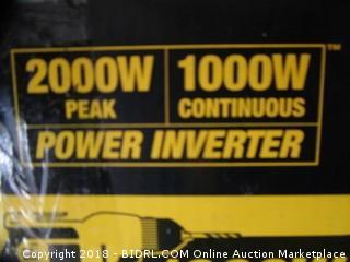 Dewalt Power Inverter
