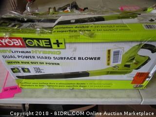 Ryobi Hard Surface Blower
