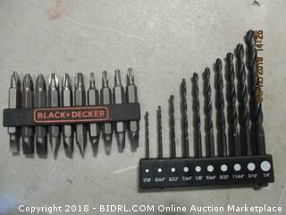 Black and Decker Drill Bits