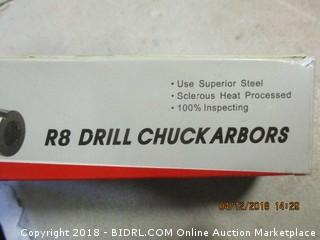 R8 Drill Chuck Arbors