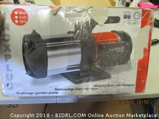 Multistage Garden Pump