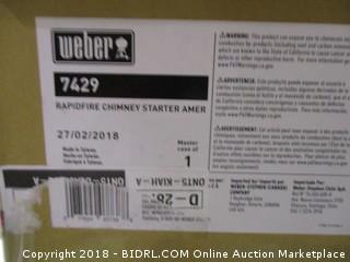Weber RapidFire Chimney Starter Amer