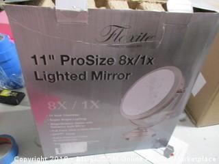 "11"" ProSize 8x/1x Lighted Mirror"