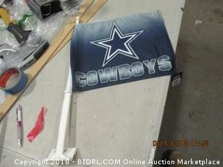 Cowboys Car Flag