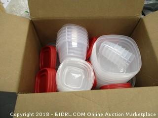 60 pc set food Storage Containers