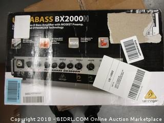 Bass Amplifier BX2000
