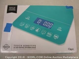 Touch Sensitive Kitchen Scale