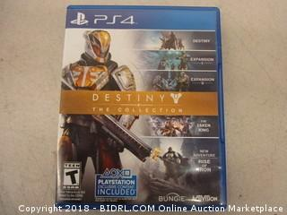 PS4 Destiny Game