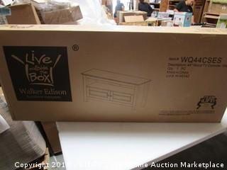 "44"" Wood TV Console"