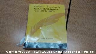 The Historic Genealogy Of the Lowells of American From 1639 to 1899 V2