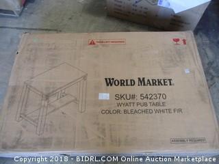 World Market Wyatt Pub Table