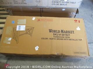 World Market Farmhouse Desk