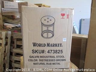 World Market Galvin Industrial Stool