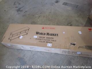 World Market Everett Foyer Table