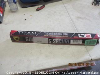 Stun Gun, Baton and Flashlight