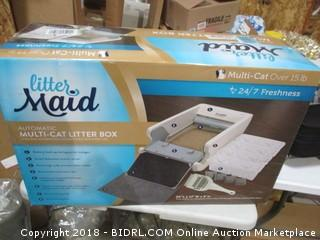 Automatic Multi-Cat Litter Box