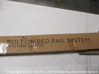 Bolt-On Bed Rail System
