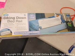 Swing Down Bed Rail