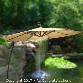 ULTIMATE - 11.5' Cantilever Umbrella - Sesame