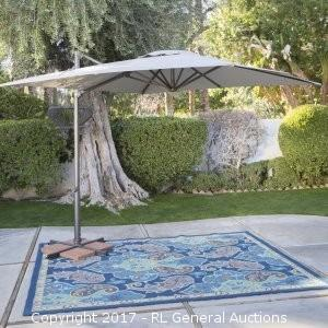 ULTIMATE - 11.5' Cantilever Umbrella - Wheat