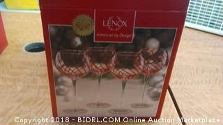 Lenox Holiday Glasses