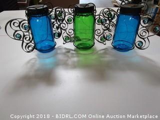 Solar Mason Jar Decors