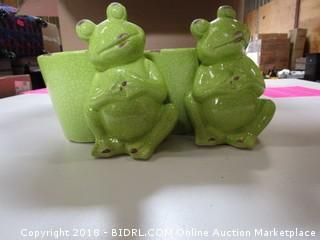 Frog Planters