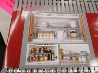 Expandable Kitchen Shelf