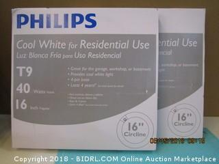 "Philips Cool White for Residential Use 16"" Circline"