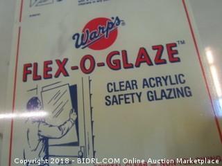 Warp's Flex O Glaze Clear Acrylic Safety Glazing